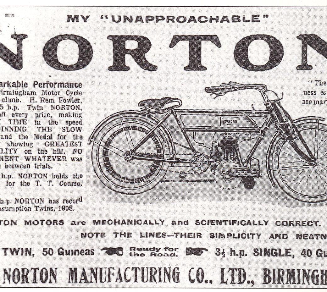 Norton, The Unapproachable…